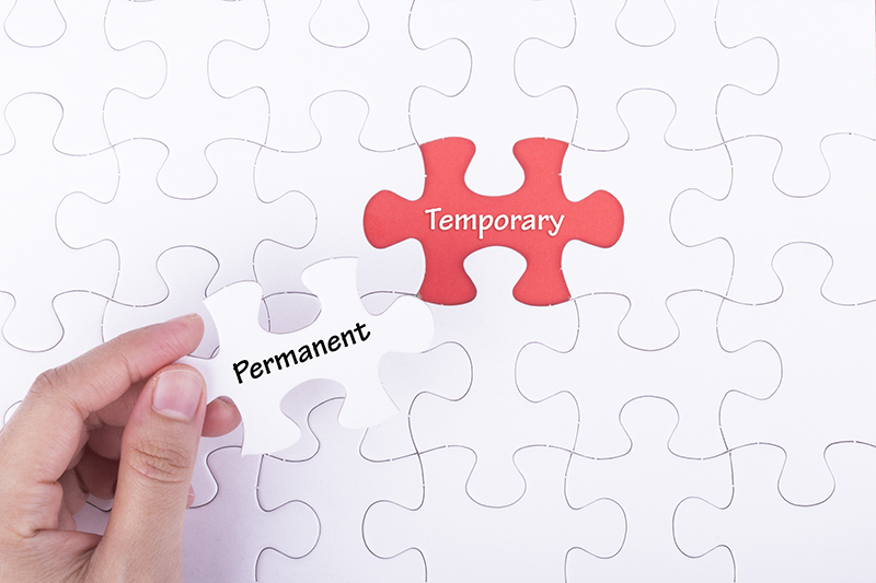 temporary not permanent puzzle pieces