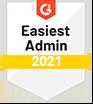 G2 Easiest Admin 2021