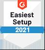 G2 Easiest Setup 2021 Summer