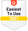 G2 Easiest To Use 2021