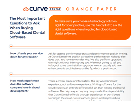 The Most Important Questions to Ask When Buying Cloud-based Dental Software