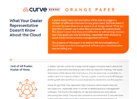 What Your Dealer Representative Doesn't Know About the Cloud